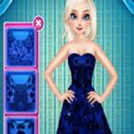 Elsa's Little Blue Dress