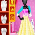 Fashion Studio Snow Queen Dress