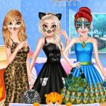 Princess Animal Style Fashion Party
