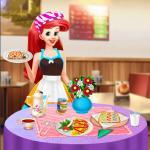 Princess Ariel Breakfast Cooking 1